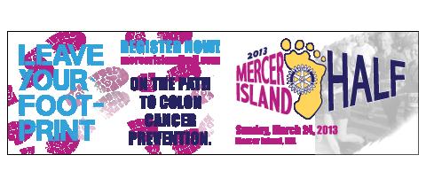 Mercer Island Half Banner